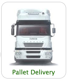 Pallet Delivery Staffordshire
